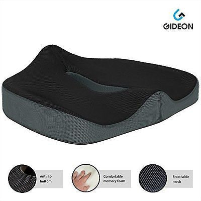 Premium Orthopedic Seat Cushion for Office Chair Car Truck Plane Wheelchairs