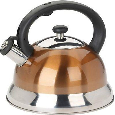 Mainstays 2.5L Tea Kettle, Copper