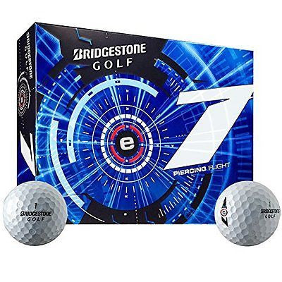 2015 Bridgestone E7 Piercing Flight Mens Golf Balls DOZEN