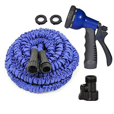 Never Leaking Sunbow Expanding Hose/as Seen on Tv Garden Hose 8 Pattern Nozzle