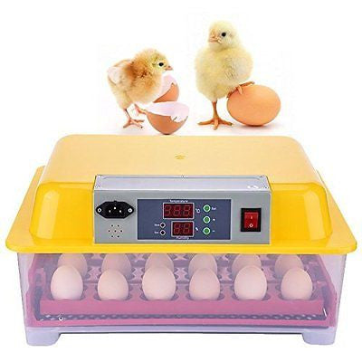 Samber Automatic Egg Turning Small Household Incubator Once Hatching 24 Eggs