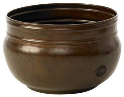 Liberty Garden Products 1901 Rustic Garden Hose Pot - Rustic