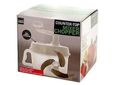 Countertop Mixer Chopper with Egg Separator, 6-Pack