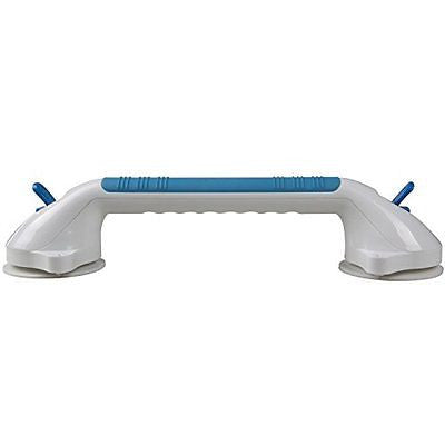 "Suction Grip Bathtub and Shower Handle with color lock indicators (16"" Length)"