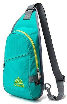 WATERFLY Sling Chest Bag Small Single Shoulder Backpack Pack