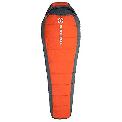 Winterial 20 - 60 degree Mummy Sleeping Bag Adult Size Camping Backpacking