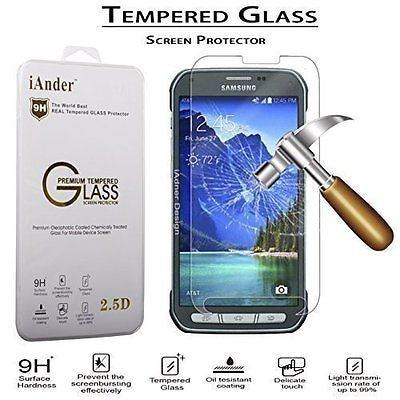 iAnder Premium Tempered Glass Screen Protector for Samsung Galaxy S5 Active