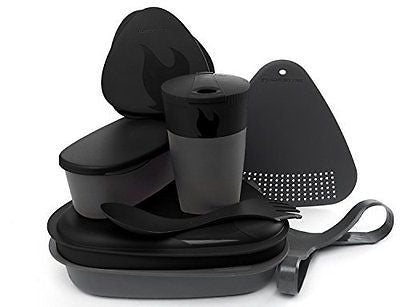 Light My Fire 8-Piece BPA-Free Meal Kit 2.0 with Plate, Bowl, Cup, Cutting Board