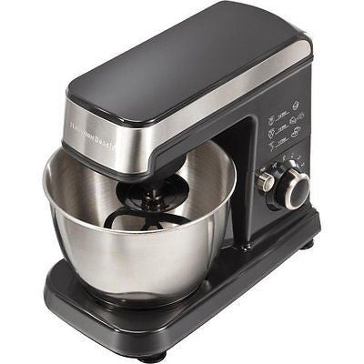 63326 Stainless Steel 3.5 Qt 300W 6-Speed CounterTop Stand Mixer