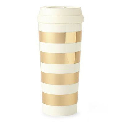 Thermal Mug - Gold Stripe