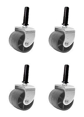Furniture Bed Frame Replacement Caster Rollers With Socket Inserts Cups