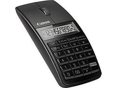 Canon 5565B001 X Mark I Mouse Slim Computer Link Calculator (Black)