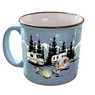Camp Casual CC-004B Mug (Starry Night),1 Pack