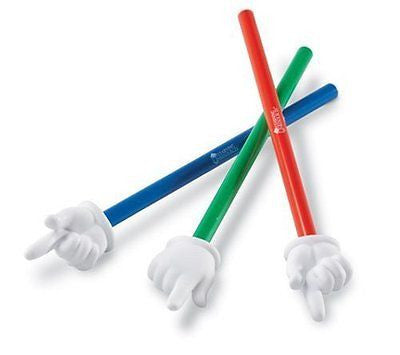 Learning Resources Hand Pointers Set of 3