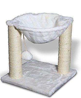 Cat Tree for Cats - Deluxe Condo Furniture Multi-level Tower with Scratching Pos