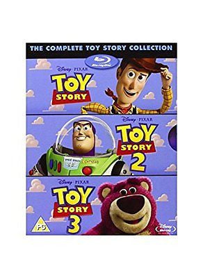 TOY STORY TRILOGY [Blu Ray Box Set] Complete 1 2 3 Disney & Pixar All 3 Movies