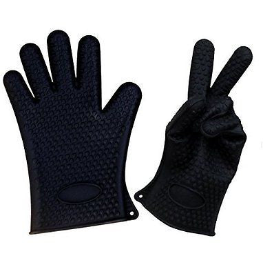 Silicone Cooking Gloves Are Ideal For Camping, Outdoor Kitchen, Barbeque Grill,