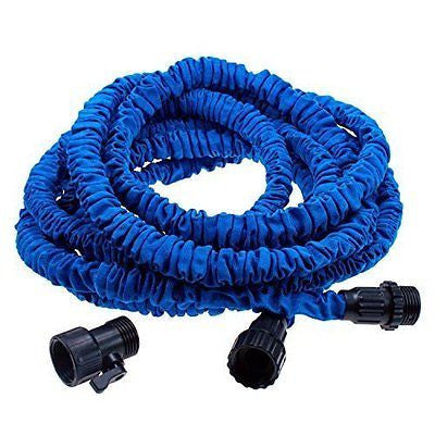 Econoled Flexible Expandable Expanding Garden & Lawn Water Hose 25 Ft Feet Blue