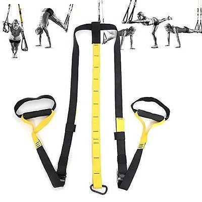 Sport Suspension Trainer Strap/band Training Exercise Workout Strength Home