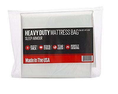 Mattress Bag for Moving 4 mil Thick Mattress Bag Queen 2-Pack