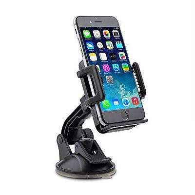 TaoTronics Car Windshield / Dashboard Universal Phone Mount Holder, Car Mobile P