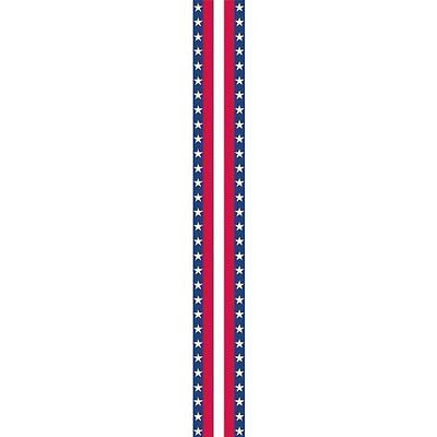 Amscan Patriotic 4th of July Stars & Stripes Bunting Roll Decoration