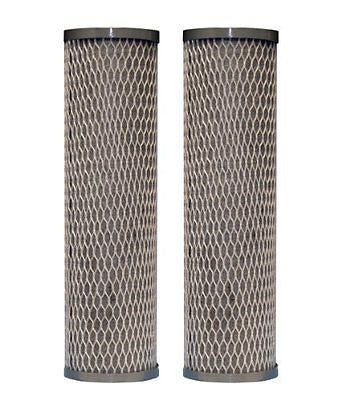 WFPFC8002 Universal Whole House Carbon Wrap 2-Phase Cartridge, 2-Pack