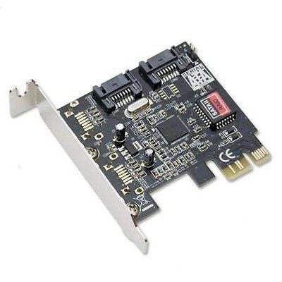 Syba Low Profile PCIe SATA2 2-Port Raid Card SiliconImage Sil3132 chipset WLM