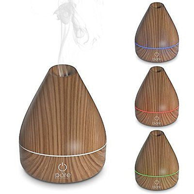 PureSpa Natural Aromatherapy Oil Diffuser - Ultrasonic Mister with 200ml Water