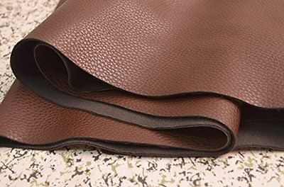 1.0mm Dark Brown Leather wearproof Sofa Leather Fabric furniture
