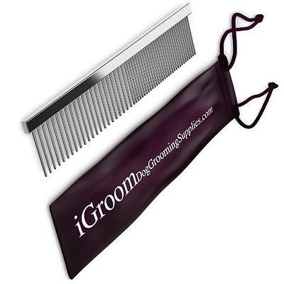 Save $9.77 - Durable Steel Dog Grooming Comb And Shedding Tool, Money Back Guara
