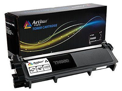 Arthur Imaging Compatible High Yield Toner Cartridge Replacement for Brother