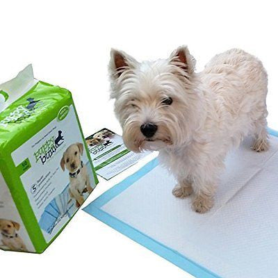 Puppy Bum Friendly Dog Training Pee Pads With Non-Slip Adhesive Strip* Indoor Po