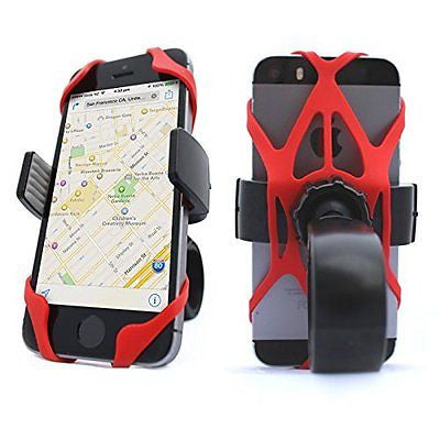 Vibrelli Universal Bike Phone Mount Holder. Fits any Smart Phone: iPhone 6 Plus