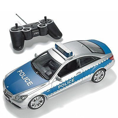Prextex RC Police Car with Lights and Realistic Police Siren Sounds Remote