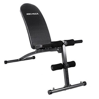 Ancheer Folding Adjustable Utility Weight Bench 500lb