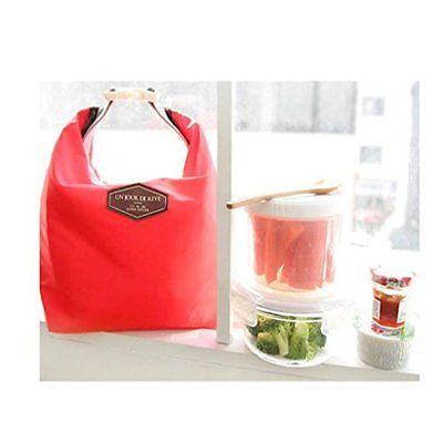 Waterproof Food Storage Bag Tote Portable Insulated Pouch Cooler (A)