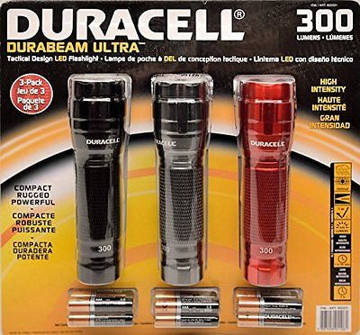 Duracell Durabeam Ultra 300 Lumens Tactical High-Intensity Compact