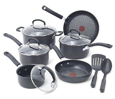 Scratch Resistant Titanium Nonstick AntiWarp Base Cookware Set 12Piece