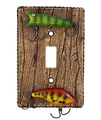 Fishing Lure Single Switch Wall Plate Electrical Cover
