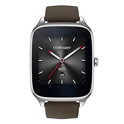 1.63-inch AMOLED Smart Watch with  Quick Charge - BROWN