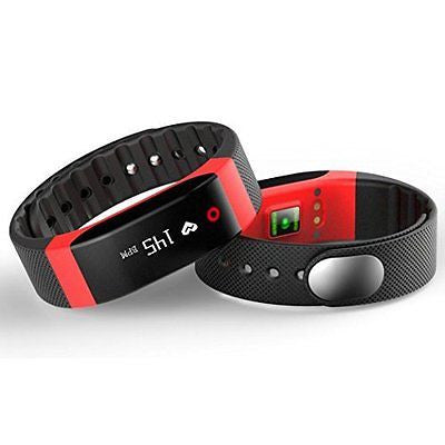 Welcomeuni H4 Bluetooth Heart Rate Monitor Smart Touch Bracelet Fitness