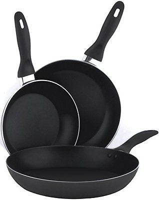 Aluminum Nonstick Frying Pan Set  (8 Inches 9.5 Inches 11 Inches) Cookware Set