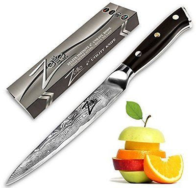 "Utility Knife 6"" Petty Knives 67 Layer High Carbon Stainless Steel"