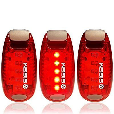 LED Safety Lights + FREE Bonuses | Clip on Flashing Strobe Light High