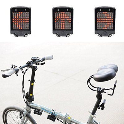 Safe Cycling Bike Bicycle Turn Light Rechargeable Tail Light