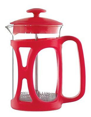 Grosche Basel French Press Coffee and Tea Maker (Large - 800 ml, Red)