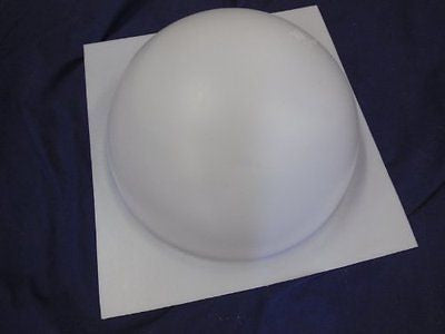 10 Inch Half Ball Sphere Concrete or Plaster Mold 7013