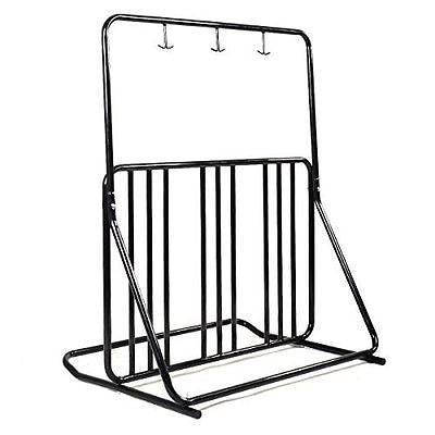 Goplus Bicycle Parking Storage Rack 1-6 Bikes Steel Park Stand 2/3/4/5 Black