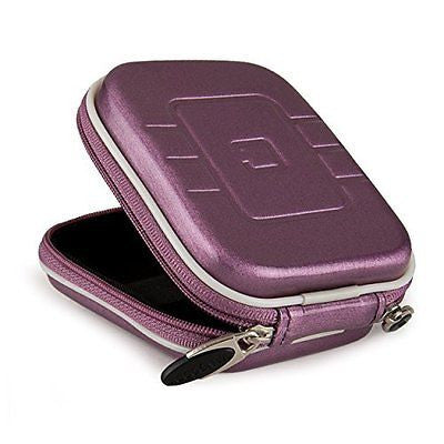 Purple Eva Hard Shell Protective Carrying case cover for Crayons & Paint
